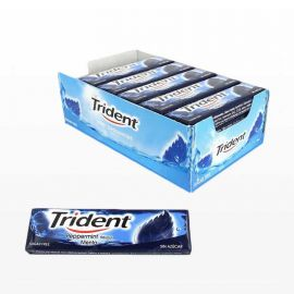 Chewing-Gum Trident Stick Menthe 24 unités