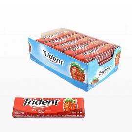 Chewing-Gum Trident Stick Fraise 24 unités