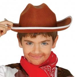 Chapeau de Cow-Boy en Feutre pour Enfants