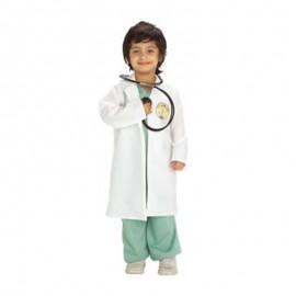 Déguisement de Docteur Vert avec Blanc Enfant
