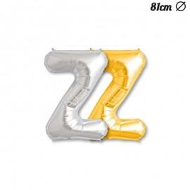 Ballon Mylar Lettre Z 81 cm