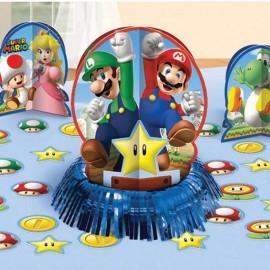 Kit de Décoration pour Table Super Mario