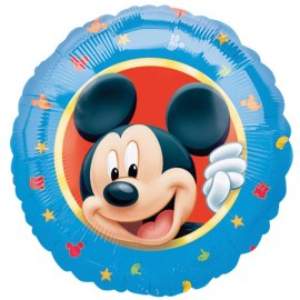 Ballon Mickey Mouse Brillant Rond