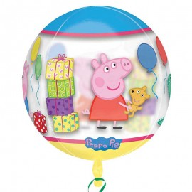 Ballon Sphérique Peppa Pig 38 cm x 40 cm