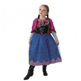 Déguisement d'Anna de La Reine des Neiges avec Musique pour Enfants