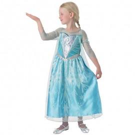 Robe Brilliante La Reine des Neiges pour Enfants