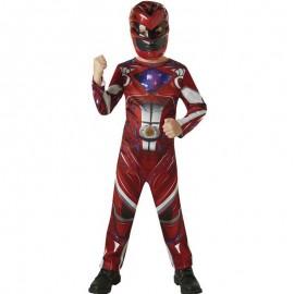 Déguisement de Power Ranger Rouge Classique pour Enfants