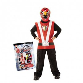 Set Action Power Ranger Rouge