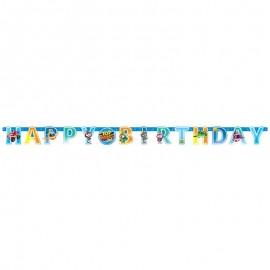 Guirlande Happy Birthday Top Wing 218 x 12 cm