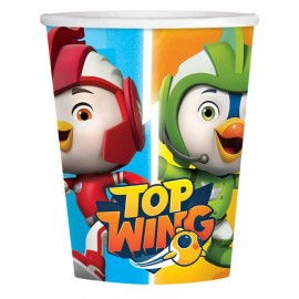 8 Gobelets Top Wing 250 mL
