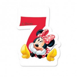 Bougie nº7 Minnie Mouse