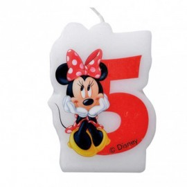 Bougie nº5 Minnie Mouse