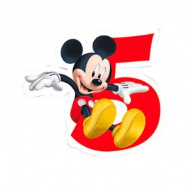 Bougie nº5 Mickey Mouse