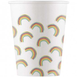 Gobelets Rainbow Party 200 mL