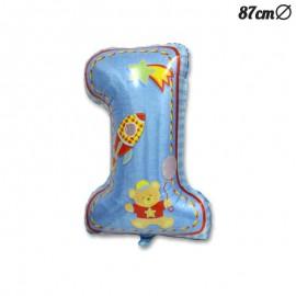 Ballon Mylar Premier Anniversaire Garçon 87 cm