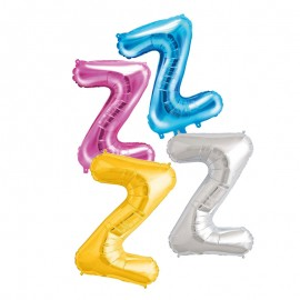 Ballon en Mylar Lettre Z 40 cm