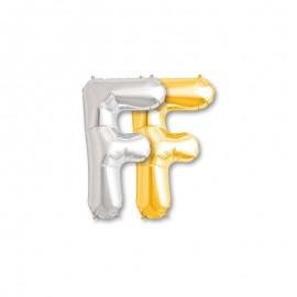 Ballon Mylar Lettre F 81 cm
