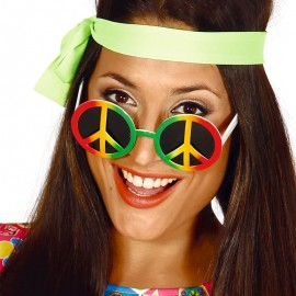 Lunettes Hippie Multi-couleur