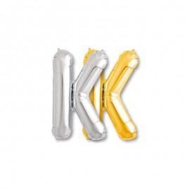 Ballon Mylar Lettre K 81 cm