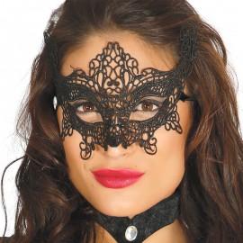Masque Brodé Noir