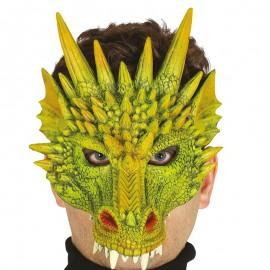 Demi Masque De Dragon en Mousse