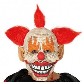 Máscara Payaso con Pelo Látex