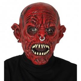 Máscara Monstruo Rojo de Látex