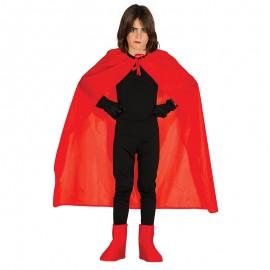 Capa Roja de Satín Infantil 100 cm