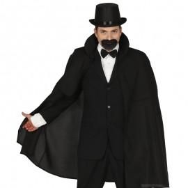 Capa Negra Elegante 100 cm
