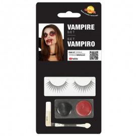 Set de Maquillaje para Ojos Vampiro