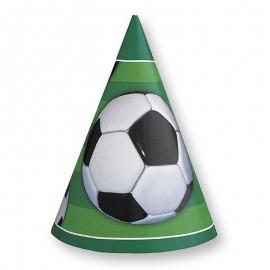8 Chapeaux Football Forme Conique