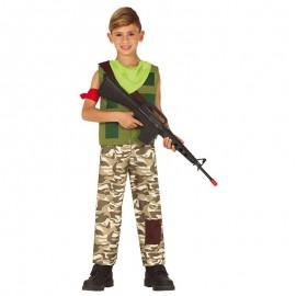 Déguisement Mercenaire Joueur Enfant