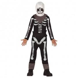 Déguisement Squelette Soldat Enfant