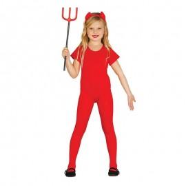 Déguisement Justaucorps Rouge Enfant