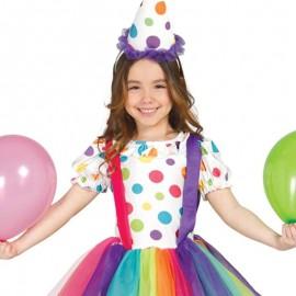 Déguisement Fille Clown Enfant