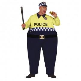 Déguisement Policier Gros Adulte