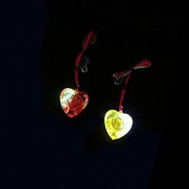 Collier Led avec Coeur Lumineux