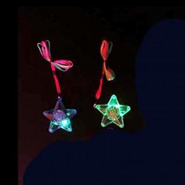 Collier d'Étoiles avec Led Lumineux