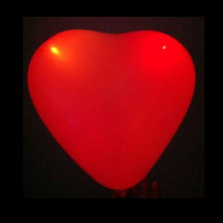 Ballon Led en forme de Coeur