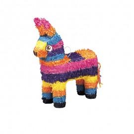 Piñata Forme Âne Multicolore