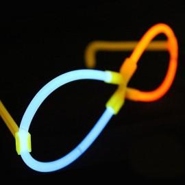 Lunettes Lumineuses Fluorescentes X (50 unités)