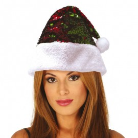 Bonnet Noel à Paillettes
