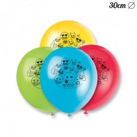 8 Ballons Avec Emoji 30 cm