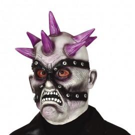 Masque Zombie Punk en Latex