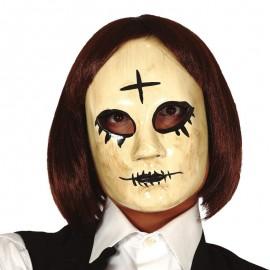 Masque Femme avec Croix