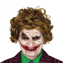 Perruque Clown Souriant en Boîte