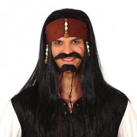 Perruque Pirate avec Foulard