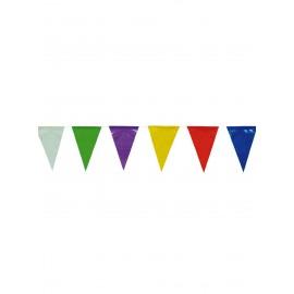 Sachet 50 m Fanions Colorés 20 x 30 cm