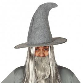 Chapeau Magicien Feutre Gris