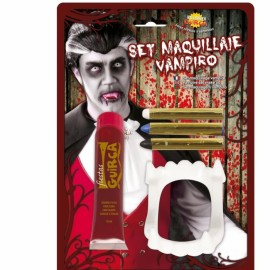 Maquillage Vampire avec Sang 20 mL